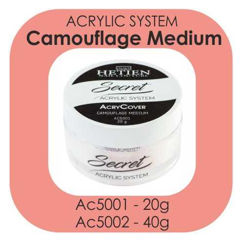 Acrylic system camouflage medium