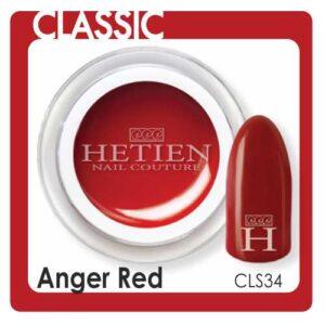 cls34 anger red color gel