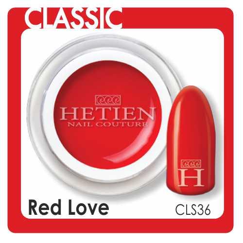 cls36 red love color gel