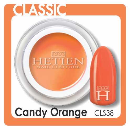 Cls38 candy orange color gel