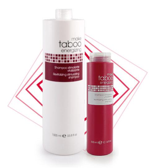 Make Taboo energizing shampoo stimolante vitalizzante