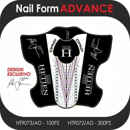 Nail Form Advance cartine forme avanzate