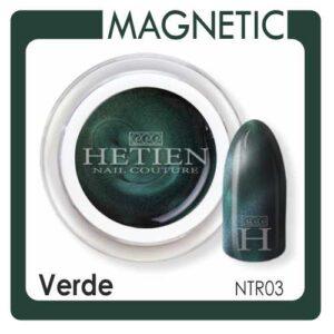 GEL COLOR MAGNETIC ASCIUGATURA: Lampada UV 2 minuti DENSITA': Media/Fluida CARATTERISTICA: Necessitano del magnete per l'effetto nail art