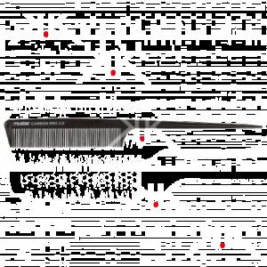pettine coda plastica  carbon pro 2.0  17632