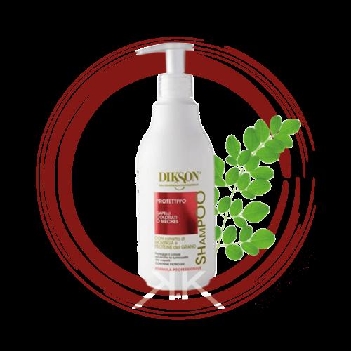 shampoo protettivo per capelli colorati e meches 500ml Tavola disegno 1