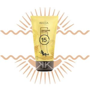 Ischia crema solare protezione 15