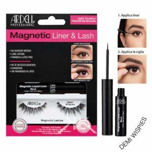 ciglie magnetiche eyeliner denime wipes