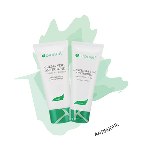 Bionell combo maschera antirughe 100 ml + crema antirughe 50 ml bionell_kosmetika-