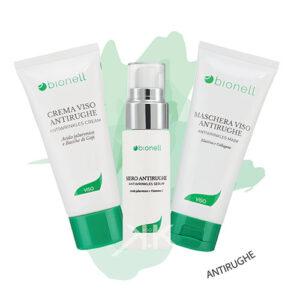 Bonell combomaschera antirughe 100ml + siero antir. + cr. antir. 50ml bionell_kosmetika-
