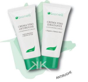 Bionell crema viso antirughe 50ml + crema viso idratante 50ml_Kosmetika_