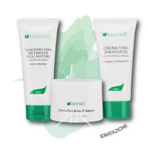 Bionell maschera nutriente 100ml + cr. bava di lumaca 50ml+ cr. nutriente 50ml_kosmetika_