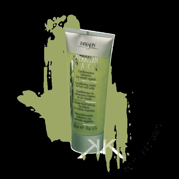 herbelan pack trattamento condizionatore per capelli con estratti vegetali rigeneranti 200ml