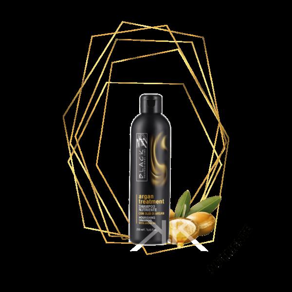 shampoo nutriente con olio di argan 250ml Tavola disegno 1